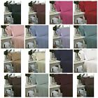 Catherine Lansfield Non Iron Fitted Flat Sheets Poly Cotton Teal Red Cream White