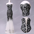 2014 Long Mermaid Sexy Evening Dress Prom Ball Gown Homecoming Formal Dresses