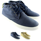 Mens Replay Irons Ankle High Lace Up Smart Casual High Top Shoes Trainer UK 7-12