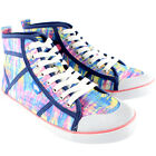 Womens Rocket Dog Rainbow Dye Amati Hi Lace Up Ankle High Boot Trainer UK 3-8