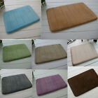 Slow rebound Memory Foam Bath Mat Rug 6 Colors Soft 40*60 Touch Durable # AU JR