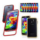 New Genuine Aluminium shock-proof armor backless bumper case cover for Galaxy S5
