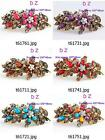 t617m26 New Fashion Flowers Women Crystal Rhinestone Hairpin Barrette Hair Clip