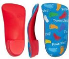 Powerstep Powerkids Orthotic Supports Full Insoles Shoes Absorb Shock Pain Kids