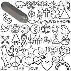 Внешний вид - Steel Design Stamp Punch Tool to Embellish Metal, Plastic, Jewelry Blanks, Clay+