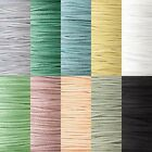 Faux Flat Suede Leather Lace Cord 3mm x 1mm 20 Pound Test Sold Bulk by the Yard