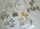 SAFETY PINS ASSORTED BUNCHES,SMALL MEDIUM,LARGE,NAPPY,DRESSMAKING,KNITTERS PINS