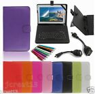 Keyboard Case Cover+Gift For 10.1 HANNSPREE SN1AT71W Andriod Tablet TY6