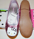 Sanrio Hello Kitty Girls Glittery Shoes Size 2 or  3 NIB