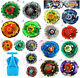 Beyblade Single Metal Fusion Fight 4D system Rapidity top & tips lot Set New Hot