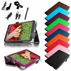 For LG G PAD 8.3 Verizon 4G LTE VK810 V510 V500 PU Leather Cover Case Bundles