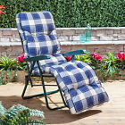 Replacement Garden Relaxer Luxury Cushion - Choice of Colours