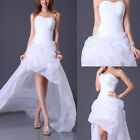 New Women 2014 wedding dress white/ivory Bridal gowns size 6-8-10-12-14-16-18-20