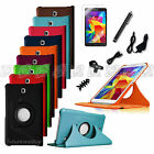 360 Rotating Leather Stand Case Cover for Samsung Galaxy Tab 4 7.0 7in1 Bundles