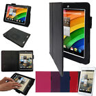 Acer Iconia A1 (Model: A1-830) PU Leather Flip Case Cover with Multi-Angle Stand
