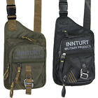 Men's cool outdoor nylon chest bag fanny pack leg shoulder messenger foot  9234