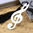 Fashion Music Note Alloy Bookmark Novelty Ducument Book Marker Label Stationery