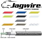 Half Metre Length JAGWIRE Pre Lubricated Bike Gear Outer Cable Various Colours