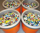 Lego 1-99 Pounds LBS Parts Pieces HUGE BULK LOT bricks blocks w 1 MINIFIG