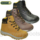 MENS PANOPLY LEATHER WATERPROOF SAFETY WORK BOOTS SHOES STEEL TOE CAP SIZE 6 -13