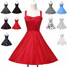 NEW GRACE KARIN CLASSY VINTAGE 1950's PINUP PROM SWING DRESS WEDDING BRIDESMAIDS
