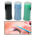 100pcs Micro Brushes Eyelash Extensions Disposable Swab Applicator Makeup Tools