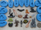 1 Sugarcraft/Fimo MOULD: HARRY POTTER INSPIRED Castle Hat Witch Wizard Halloween