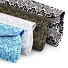 BMC Wavy Lace and Colored Glitter Pattern Exterior Evening Party Clutch Handbag