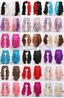 Multi list Gothic Lolita curly Split type Cosplay Lori Girl With Ponytails Wig