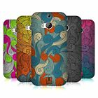 HEAD CASE DESIGNS VIVID SWIRLS CASE COVER FOR HTC ONE M8