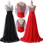 2014 UK FAST~Sexy Women Bridesmaid Wedding Ball Gown Prom Evening Party Dress 01