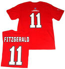 Arizona Cardinals Football Fitzgerald 11 Jersey Short Sleeve Shirt Red