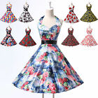 Punk Style Housewife Retro~60s/50s Evening Party Pinup Rockabilly A-Line Dresses