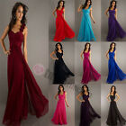 Formal Long Chiffon Maxi Evening Cocktail Party Ball Gown Prom Bridesmaid Dress