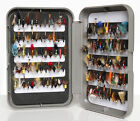 G Slit Foam Fly Box Inc Trout Flies Wets, Dries, Nymphs, Buzzers 10, 25, 50, 100