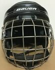 Bauer 1500 Helmet With Cage Senior Small Black 3015