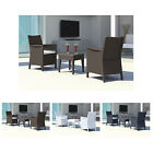 Alfresia California 2 Seater Chair Set With Side Table Choice of Colours