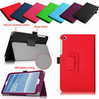 For ASUS MeMO Pad 8 ME181C Tablet Folio Leather Stand Auto Wake/Sleep Case Cover