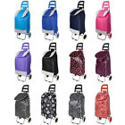 Funky Foldable Summer Music Festival Shopping Trolley Luggage Bag With Wheels