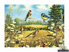 Glass Chopping Board Goldfinch British Garden Birds Kitchen Worktop Saver 3 Size