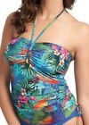 New Fantasie Dominica Bandeau Tankini Top 5962 Tropical Print VARIOUS SIZES