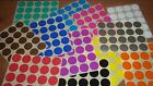 Stickers Labels Colour Code Dots 25mm (1 Inch) Yellow Red Orange Blue Pink Green