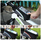 Bike Bicycle Frame Panniers Front Tube Bag f IPHONE 4 5 5S SAMSUNG HTC NOKIA UK