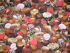 chocolate print fabric dipped strawberries confectionary food