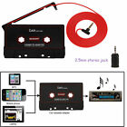 CASSETTE TO MP3 ADAPTER CAR TAPE PLAYER iPHONE iPOD MP3 CD RADIO STEREO NANO