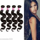 "1/2/3Bundles 6A Malaysian Virgin Hair Extensions12""-20""Body Wave Natural ColorUS"