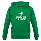 My Other Ride Is A Horse - Kids / Childrens Hoodie - Riding - Equestrian