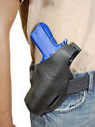 New Barsony Black Leather Pancake Gun Holster for Taurus Full Size 9mm 40 45