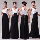 NEW❤Promotion❤Black&White Formal Evening Bridesmaid Party Prom Wedding Dresses