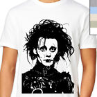 EDWARD SCISSORHANDS T-Shirt. 90's Retro Tim Burton Film. Johnny Depp Goth Movie